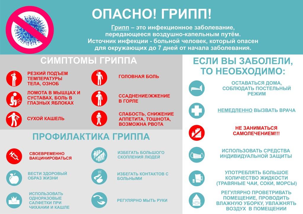 Профилактика гриппа в 2019 году в России картинки
